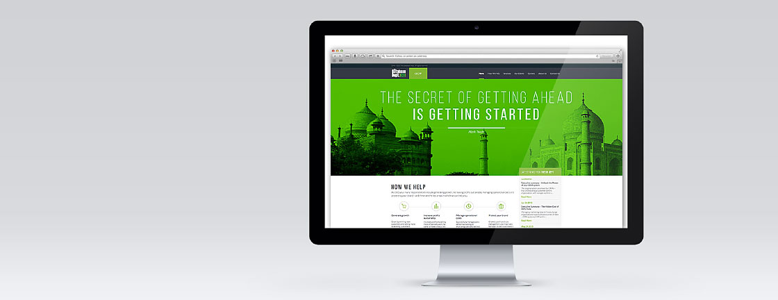 The Database Dept Website - CEO View