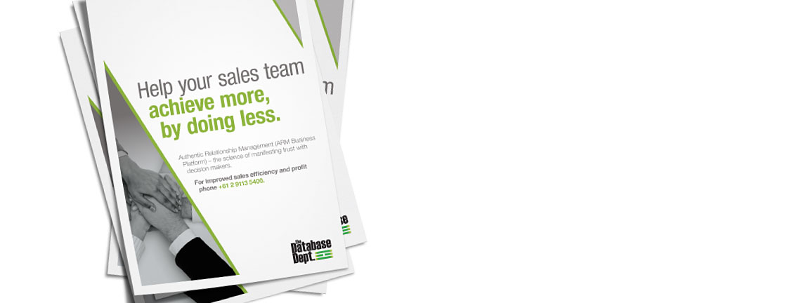 The Database Dept Sales Brochure