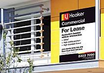 LJ Hooker Commercial - Signboards