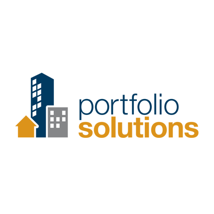 Portfolio Solutions Logo Design Home page