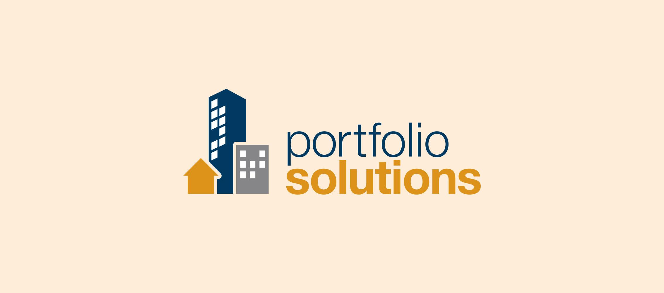 Portfolio Solutions Logo Design