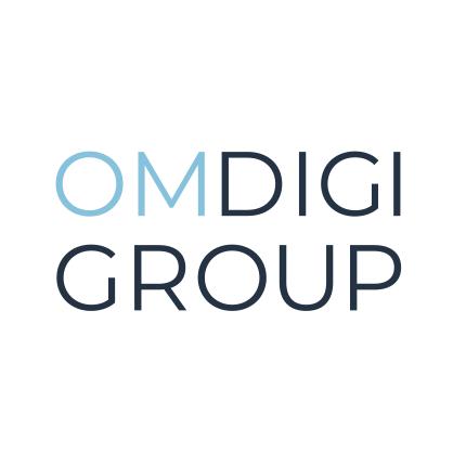 OMDIGI Group Logo Design Hompage