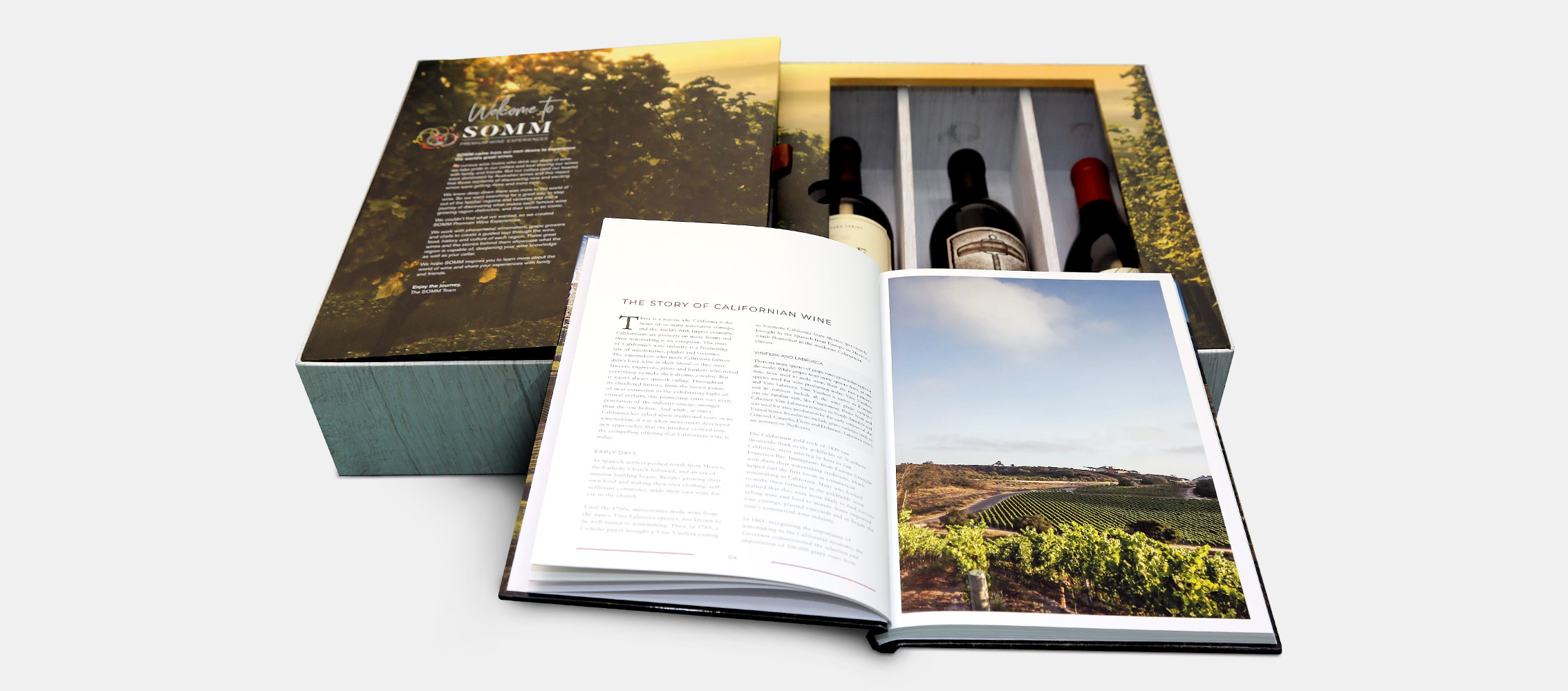 SOMM Outer Box Design Open Book