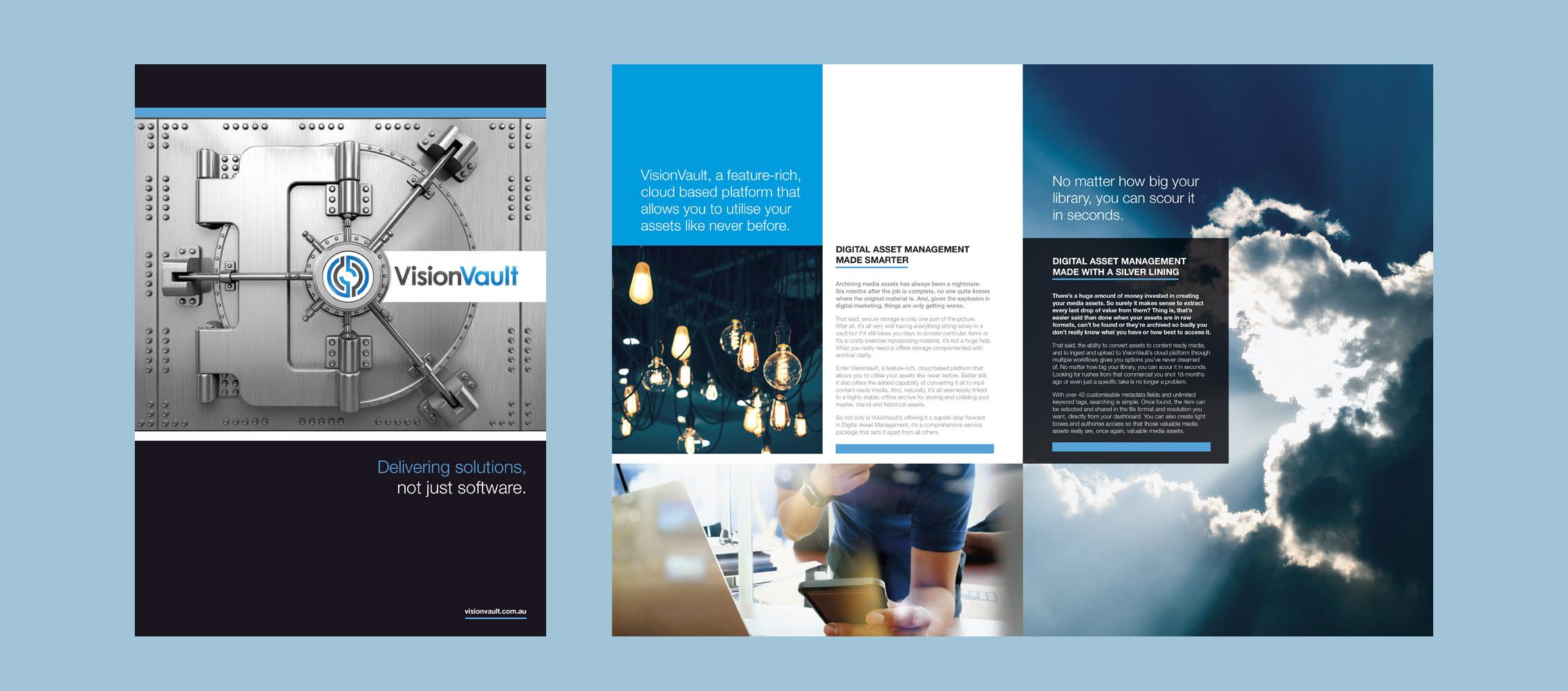 Vision Vault Brochure Design
