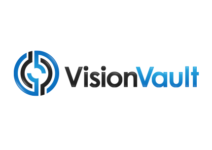 Vision Vault logo home page